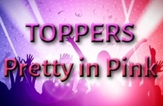 Toppers Pretty in Pink